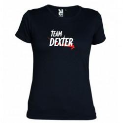 Dámské tričko Team Dexter černé
