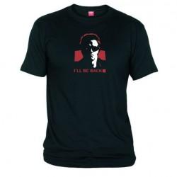 Pánské tričko Terminator I will be back černé