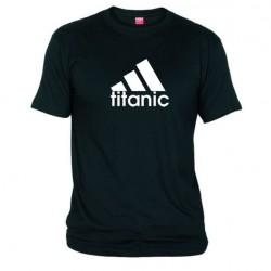 Pánské tričko Titanic černé