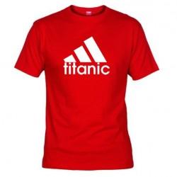 Pánské tričko Titanic červené