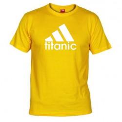 Pánské tričko Titanic žluté