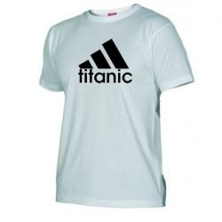 Pánské tričko Titanic bílé