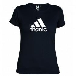 Dámské tričko Titanic černé