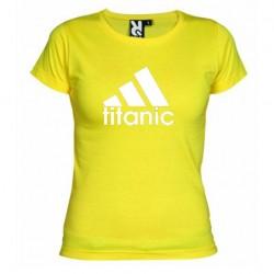 Dámské tričko Titanic žluté