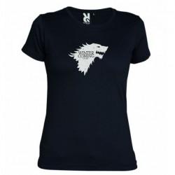 Dámské tričko Winter is coming černé
