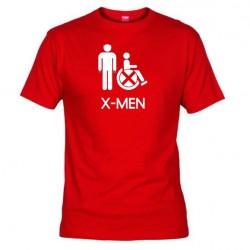 Pánské tričko X-men červené