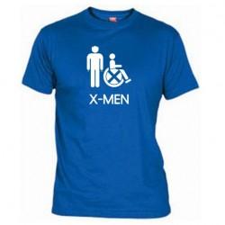 Pánské tričko X-men modré