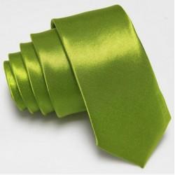 Úzká SLIM kravata zelená