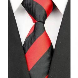 Hedvábná kravata červená NT0057