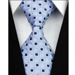 Hedvábná kravata modrá NT0047