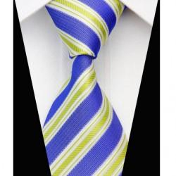 Hedvábná kravata modrá NT0573