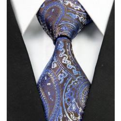 Hedvábná kravata modrá NT0292