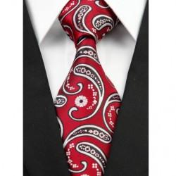 Hedvábná kravata červená NT0213