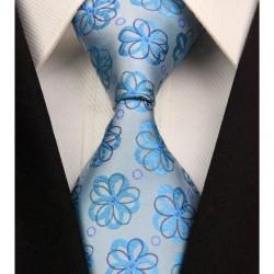 Hedvábná kravata šedá NT0313
