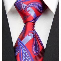 Hedvábná kravata červená NT0314