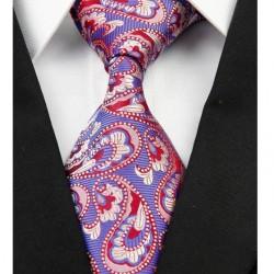 Hedvábná kravata modrá NT0217