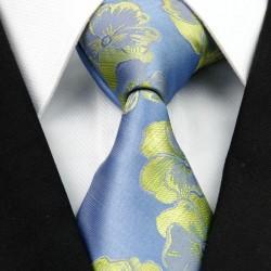 Hedvábná kravata modrá NT0265