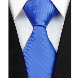 Hedvábná kravata modrá NT0208