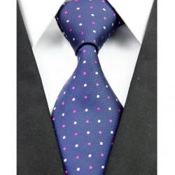 Hedvábná kravata modrá NT0225