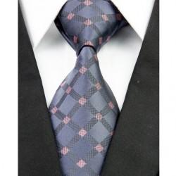 Hedvábná kravata černá NT0230