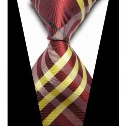 Hedvábná kravata červená NT0421