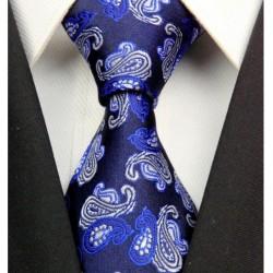Hedvábná kravata modrá NT0317