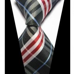 Hedvábná kravata černá NT0420