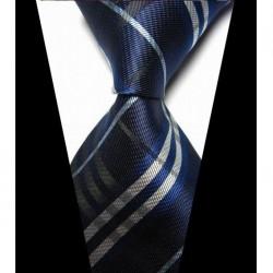 Hedvábná kravata modrá NT0424