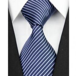 Hedvábná kravata modrá NT0110