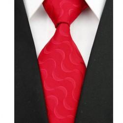 Hedvábná kravata červená NT0062