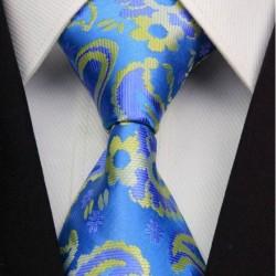 Hedvábná kravata modrá NT0364