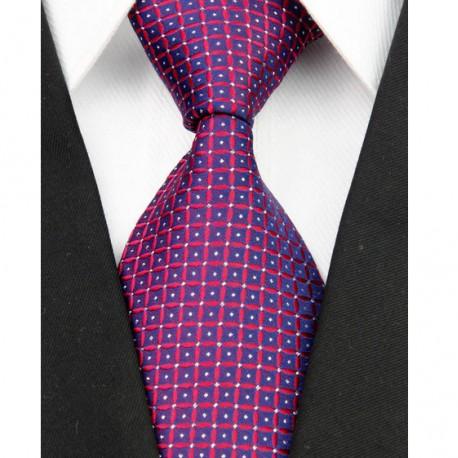 Hedvábná kravata červená NT0094