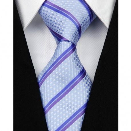 Hedvábná kravata modrá NT0116