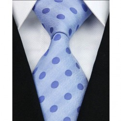Hedvábná kravata modrá NT0108
