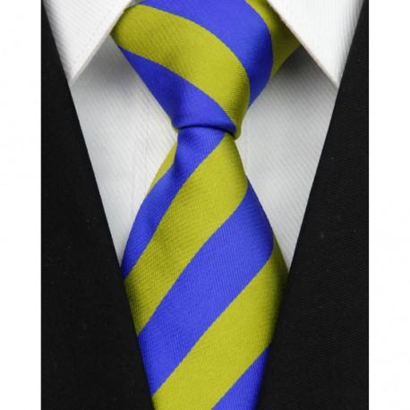 Hedvábná kravata modrá NT0080