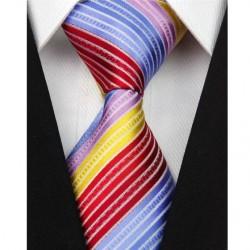 Hedvábná kravata fialová NT0103