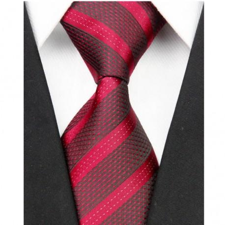 Hedvábná kravata červená NT0068