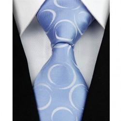 Hedvábná kravata modrá NT0106