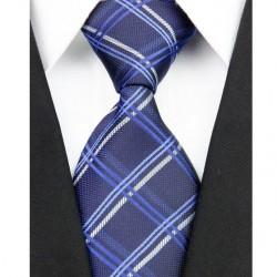 Hedvábná kravata modrá NT0115