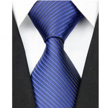 Hedvábná kravata modrá NT0070