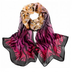 Hedvábný šátek 100% SILK SGSS01