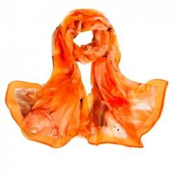 Hedvábný šátek 100% SILK SGSS06