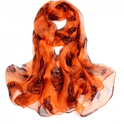 Hedvábný šátek 100% SILK LSGS013A