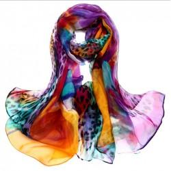 Hedvábný šátek 100% SILK LSGS015