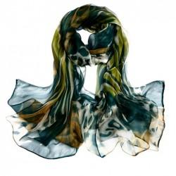 Hedvábný šátek 100% SILK LSGS021A