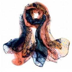 Hedvábný šátek 100% SILK LSGS022A