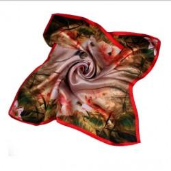Hedvábný šátek 100% SILK 53SD01B