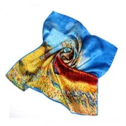 Hedvábný šátek 100% SILK 53SD04B