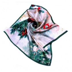 Hedvábný šátek 100% SILK 53SD06B