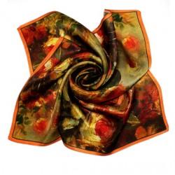 Hedvábný šátek 100% SILK 53SD027B